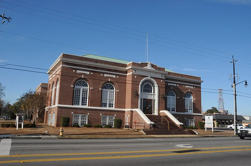 File:FLORENCE PUBLIC LIBRARY, FLORENCE COUNTY SC.jpg