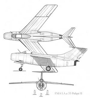 3-view of Pulqui II