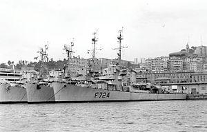 USS Baker (DE-190) - French Frigate Malgache (F724)