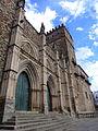 Fachada mudejar del Real Monasterio de Santa María de Guadalupe.JPG