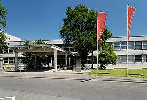 Deutsch: Fachhochschule in Düsseldorf-Golzheim...