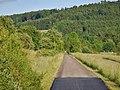 Fahrradweg auf der ehemaligen Hohenstaufenbahn (1907 erbaut, 1990 zum Radweg ausgebaut) - panoramio.jpg
