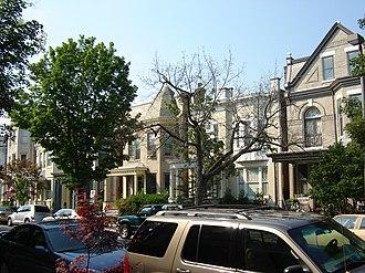 Fan district - A street in the Fan