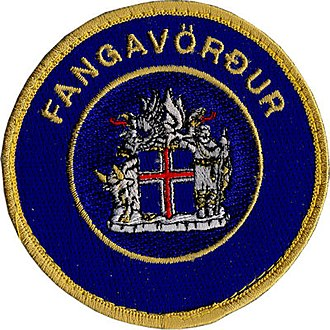 Icelandic Prison Service - Image: Fangavörður Patch