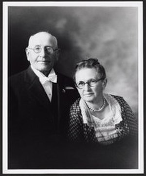 Fanny J. Bayrhoffer Thelen - Edmund Thelen and Fanny J. Bayrhoffer Thelen