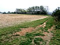 Farm track at Claxby St Andrew - geograph.org.uk - 595843.jpg