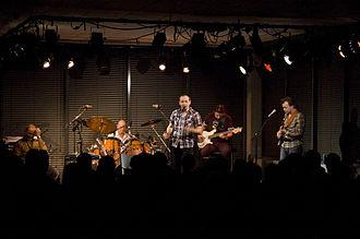 Farmers Market (band) - Farmers Market in concert in Mo i Rana, Nordland, Norway.  (2008; photo: Stig Aron Kamonen)
