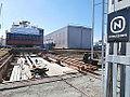 Feed Barges under Construction at Noblessner Shipyard in Tallinn 9 April 2014.JPG