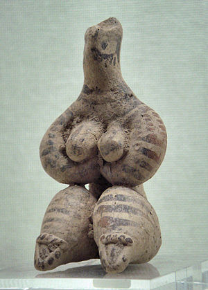 History of Syria - Female figurine, Syria, 5000 BCE. Ancient Orient Museum.