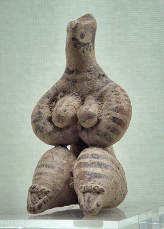 Syria - Female figurine, 5000 BC. Ancient Orient Museum.