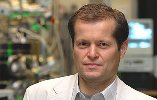 Ferenc Krausz Austrian-Hungarian laser physicist