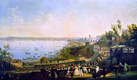 Fergola, Salvatore The Inauguration of the Naples - Portici Railway, 1840.JPG