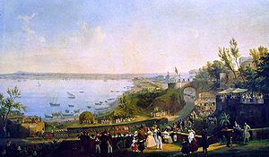 Fergola, Salvatore The Inauguration of the Naples - Portici Railway, 1840