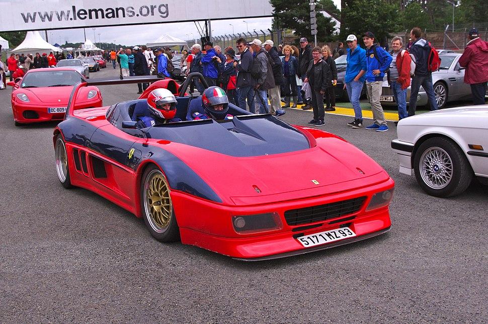 Ferrari 348 barchetta competizione