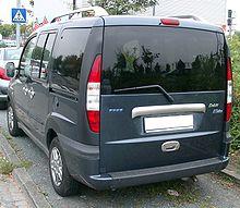 Fiat Doblo rear 20071002.jpg