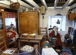 Folk museum - Fife Folk Museum exhibit.
