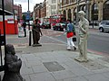 Figures in the street, City Road - geograph.org.uk - 867990.jpg