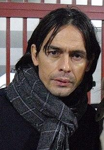 Filippo Inzaghi Italian footballer
