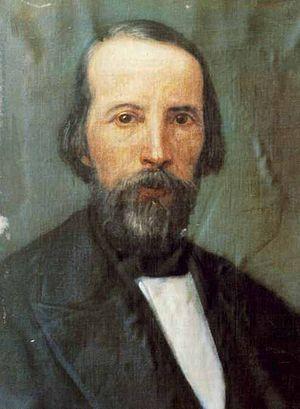 Filippo Parlatore - Portrait of Filippo Parlatore