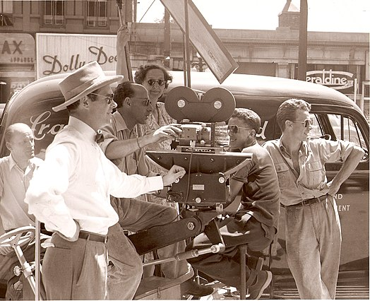 Film crew in the mid 20th century Film Crew.jpg