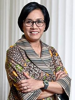 Sri Mulyani Indonesian economist