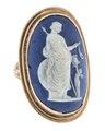 Fingerring med kamé förställande Athena, 1700-talets slut - Hallwylska museet - 110215.tif