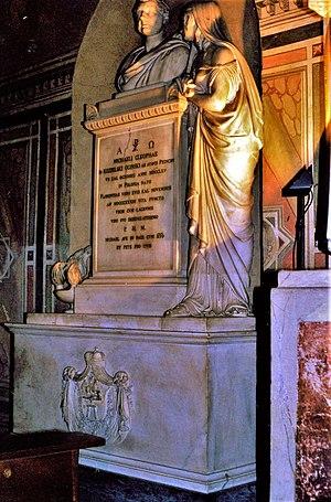 Ogiński family - Tomb of Michal Kleofas Oginski Basilica of Santa Croce, Florence