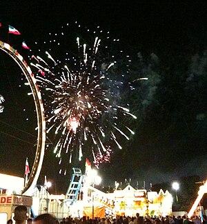 North Carolina State Fair - Fireworks at the 2009 fair
