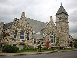 First Christian Church (Columbia, Missouri) United States historic place
