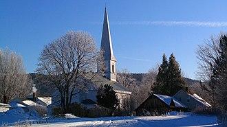 Sunderland, Massachusetts - First Congregational of Sunderland, organized in 1718