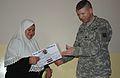 First female Security Volunteers graduate in Adhamiyah DVIDS61545.jpg