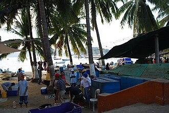 Zihuatanejo - Fish market area
