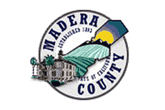 Chowchilla, California - Image: Flag of Madera County, California