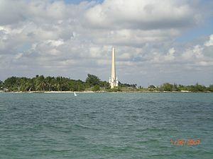 Flagler Monument Island - Image: Flaglermemorialislan d