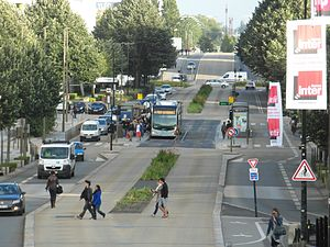 Nantes Busway - Station overview