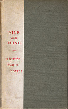 Florence Earle Coates Mine and Thine 1904.jpg