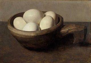 Bol avec œufs