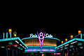 Flos V8 Cafe at night.jpg
