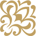 FlowerS Ornament Gold Up Right.png