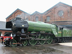 Flying Scotsman in Doncaster.JPG