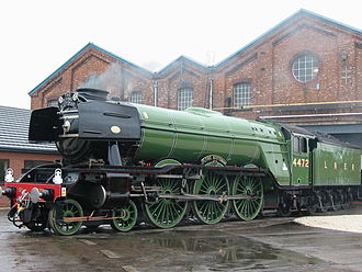 London and North Eastern Railway - The most famous of the A1/A3 Class locomotives, A3 4472 Flying Scotsman