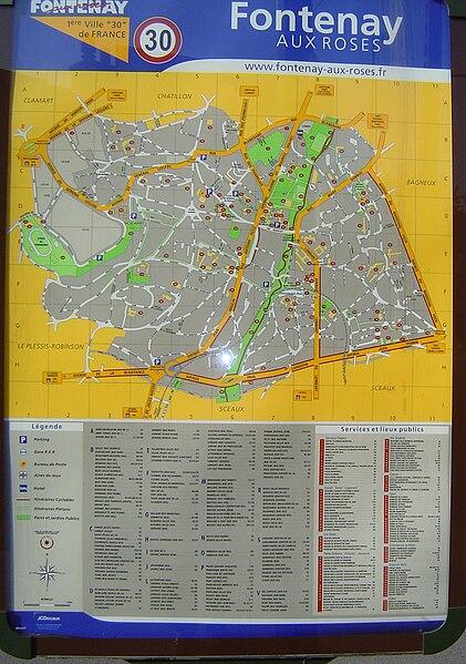 File:Fontenay-aux-Roses - Plan de la ville.jpg