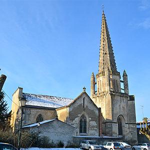 Fontenay-le-Comte - Image: Fontenay le Comte Eglise Saint Jean (1)