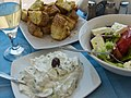 Food in Pireas, Greece (14027359359).jpg