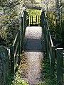 Footbridge over the Amber - geograph.org.uk - 1278327.jpg