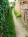 Footpath to the John O'Gaunt, High Street, Hungerford - geograph.org.uk - 1353206.jpg