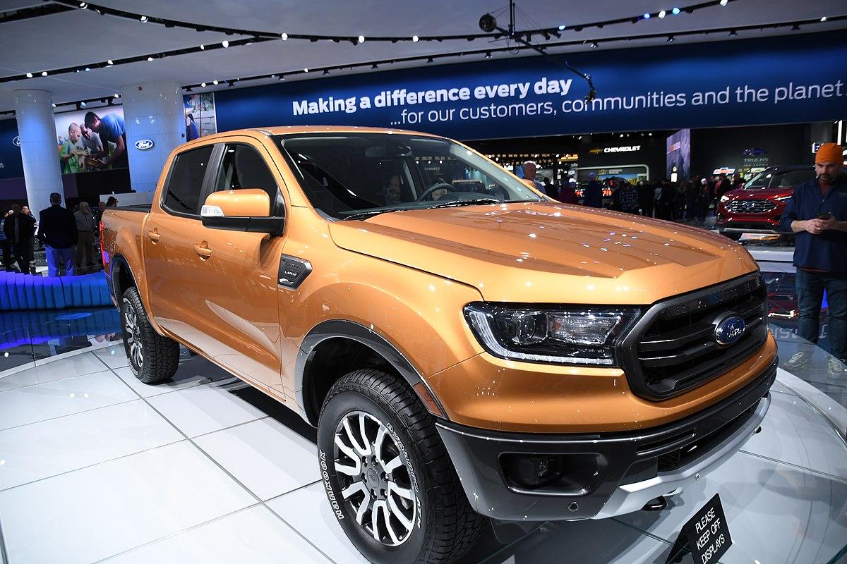Ford Ranger (fourth generation) - Wikipedia
