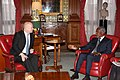 Foreign Secretary William Hague meeting H.E. Mr. Kofi Annan in London, 11 March 2013. (8548486625).jpg