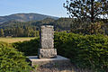 Fort Colville (US Army) Monument with Old Town Mountain in background.JPG
