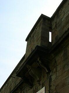 Bretèche Type of castle architectural element